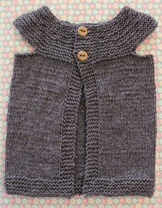 baby knitted vest