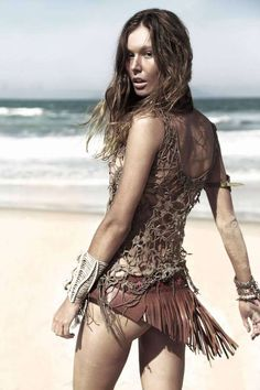 Boho Beach Goddess Shoots - The Yacamim Spring/Summer 2012 Ad Campaign is Hot (GALLERY)