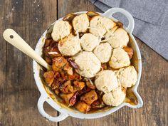Paprika chicken dumplings