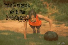 In God, we always find strength!