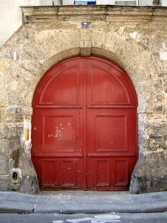 Red Door. Le Marais - Paris.