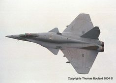 F-18 with canards