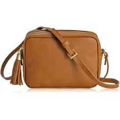 GiGi New York Madison Crossbody ($198) ❤ liked on Polyvore featuring bags, handbags, shoulder bags, purses, accessories, bolsos, saddle, crossbody hand bags, shoulder handbags and handbags shoulder bags