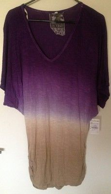 Young, Fabulous and Broke Ombré Tunic Top. Great for poolside