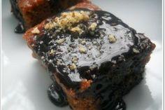 Glazed Chocolate Cake/Prajitura cu glazura de post Chocolate Cake, Glaze, Gem, Muffin, Breakfast, Desserts, Food, Chicolate Cake, Enamel