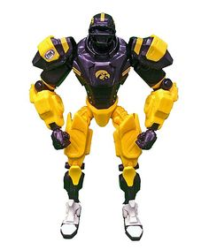 Iowa Hawkeyes FOX Sports Cleatus Robot Action Figure