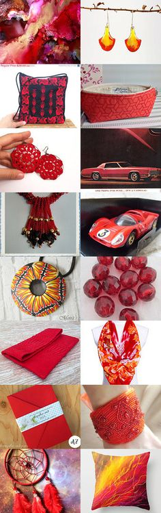 on fire by lechiffrejewels on Etsy--Pinned with TreasuryPin.com #Etsyvintage #Estyhandmade #summerfinds