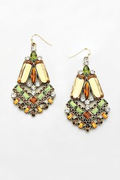 Danika Earrings in Colorado Topaz | Women's Clothes, Casual Dresses, Fashion Earrings & Accessories | Emma Stine Limited