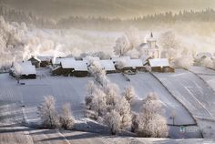 Plesa, Suceava by Sorin Onişor Winter's Tale, World's Biggest, Beautiful Landscapes, Old Houses, Romania, Photo Galleries, Places To Visit, Traditional, Gallery