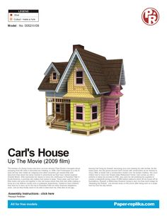 PaperToy - Up House 001