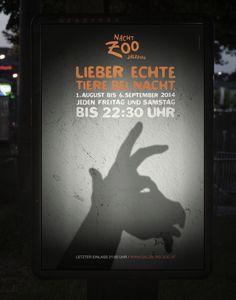 [2/4] Esta serie de gráficas del Zoo buscan invitar a las personas a visitar sus animales. La #solucion representar a animales con gestos y mímicas.