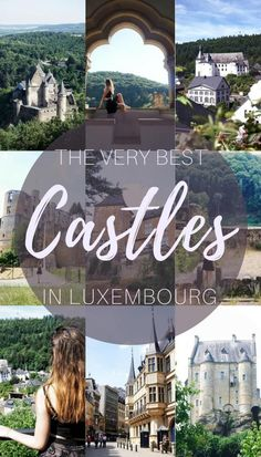 Very Best castles in Luxembourg- Châteaux, Castles, Palaces and Burgen you must see in Luxembourg, Europe! #cheaptraveldestinations