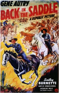 Back in the Saddle Movie Posters From Movie Poster Shop $9.99