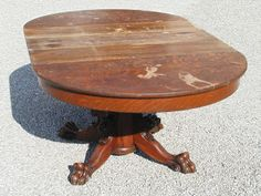 Distressed Antique Dining Table