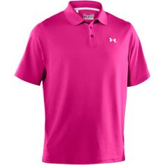 Pink Under Armour Polo