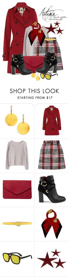 """Separates For Autumn"" by shamrockclover ❤ liked on Polyvore featuring Gurhan, Burberry, MTWTFSS Weekday, Carven, Dorothy Perkins, Miss Selfridge, Reptile's House, Cartier and Earth"