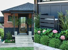 Curb Appeal Idea: Cover Up Unsightly Elements Like Air Conditioning Units And Chipped Veneer | Photographer: Donna Griffith | Designer: Sarah Hartill
