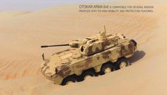UAE made a $661 million deal with Turkish Otokar to produce 88 armored vehicles