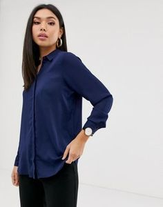 Buy ASOS DESIGN soft long sleeve shirt at ASOS. With free delivery and return options (Ts&Cs apply), online shopping has never been so easy. Get the latest trends with ASOS now. Oversized Long Sleeve Shirt, Long Sleeve Wrap Top, Long Sleeve Shirts, Ralph Lauren Denim Shirt, Asos, Tie Waist Top, Satin Shirt, Going Out Tops, Work Shirts