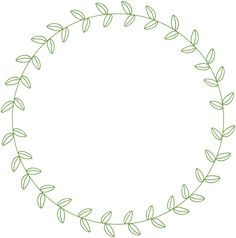 circle leaf border - Google Search