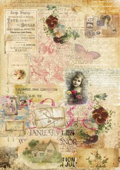 Graphics and Ephemera for Crafters, Card making, Scrapbooks, Journalling, and Happymail. Craft Stash, Free Graphics, Free Prints, Journalling, Collage Sheet, Scrapbooks, A4, Vintage World Maps, Card Making