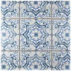 Merola Tile Klinker Alcazar Petunia 12-3/4 in. x 12-3/4 in. Ceramic Floor and Wall Quarry Tile-FGAKAL1 - The Home Depot