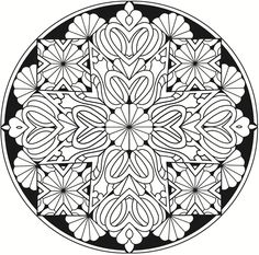 Welcome To Dover Publications Creative Haven Kaleidoscope Designs Stained Glass Coloring Book