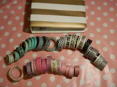 De washi tapes die ik ga gebruiken bij het pimpen van mijn planner!