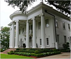 New Orleans Homes and Neighborhoods » Rosa Park, Street of Mansions in New Orleans Uptown….Big and Beautiful