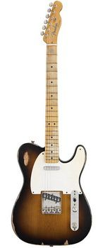 Fender Road Worn '50s Tele Electric Guitar - 2 Tone Sunburst