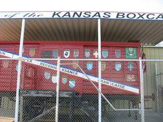 Kansas Merci Boxcar & Veterans Memorial Park 13th & Canterbury - 785-625-3813 for a FREE Tour