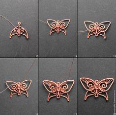 Делаем элегантные серьги с бабочками - Ярмарка Мастеров - ручная работа, handmade