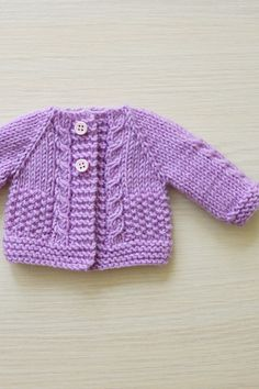 Hand Knit Mauve doll Cardigan, Waldorf style dolls, Waldorf doll clothes, baby doll clothes - Healty fitness home cleaning Baby Cardigan Knitting Pattern, Baby Knitting Patterns, Hand Knitting, Baby Doll Clothes, Baby Dolls, Waldorf Dolls, Baby Sweaters, Crochet Baby, Kids Fashion