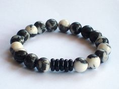 Men's Bracelet Men' Jewelry Men's Beaded by Michelleshandcrafted,