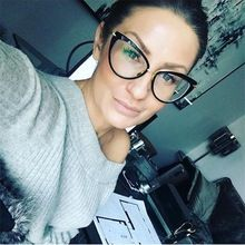 eye glasses frames for women Cat's eye clear glasses transparent Computer spectacles women vintage spectacles women's frame 2018(China)