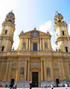 Theatine Church, Munich, Germany - http://3scape.com #churches #architecture #photos