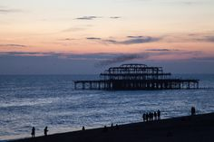 Sunset at Brighton by George Mischenko - Photo 6674736 - 500px