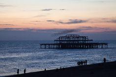Sunset at Brighton by George Mischenko - Photo 6674736 - 500px