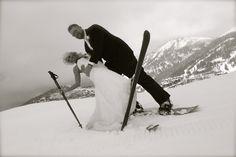 Park City, Ski Wedding- Andrea Page Photography