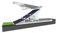 South Stand Render