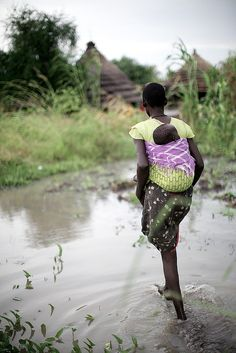 Mother| Torit, South Sudan. Be kind to your sleeping heart. Take it out in the vast field of light and let it breathe.
