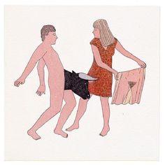 Marion Fayolle poema visual satira Cultura Inquieta  19