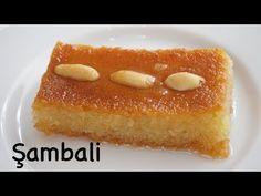 Un yok! Yağ yok ! Yumurta yok! Orijinal şambali / şam tatlısı / şerbetli tatlı / Figen Ararat - YouTube