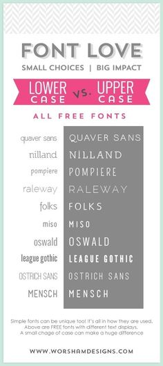 Something as simple as your font can make a big difference. Check out some amazing sans serif fonts.