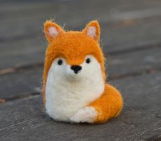 Hey, I found this really awesome Etsy listing at https://www.etsy.com/listing/103666155/needle-felted-fox