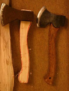 this tells you how to make an axe handle the next post tells you how to fit it quickly and easily.