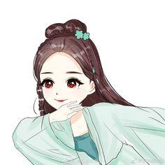 Chinese Cartoon, Chibi, Novels, Fan Art, Gallery, Cute, Anime, World, Dibujo
