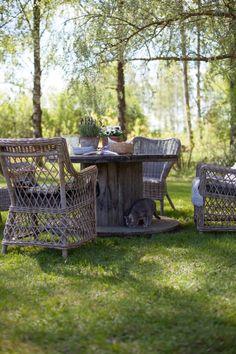 kesä arkistot - Page 34 of 130 - Uusi Kuu Outdoor Spaces, Outdoor Living, Outdoor Decor, Varanasi, Garden Inspiration, Wicker, Outdoor Furniture Sets, Pergola, Relax