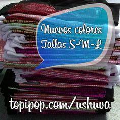 En @topipop y nuevos colores (Azul eléctrico y verde neón)... Ushuva! se siente disco
