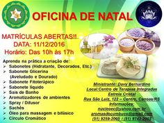 Aromas do Cumbuco: OFICINA DE NATAL!!! AROMAS DO CUMBUCO